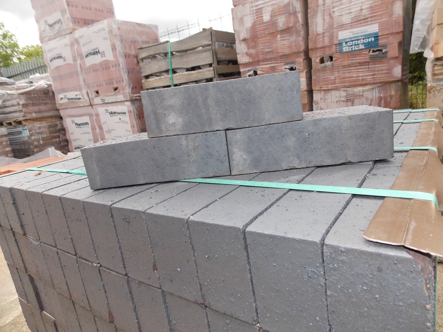 Ketley blue solid Brick