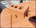 Ketley Class B Red Perforated Brick